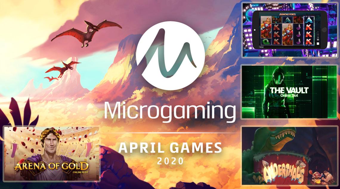 Microgaming ігри в квітні