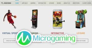 Inspired интегрирует контент Microgaming